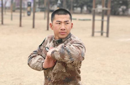 給主席表演長拳的新兵:我要成為楊子榮式的英雄