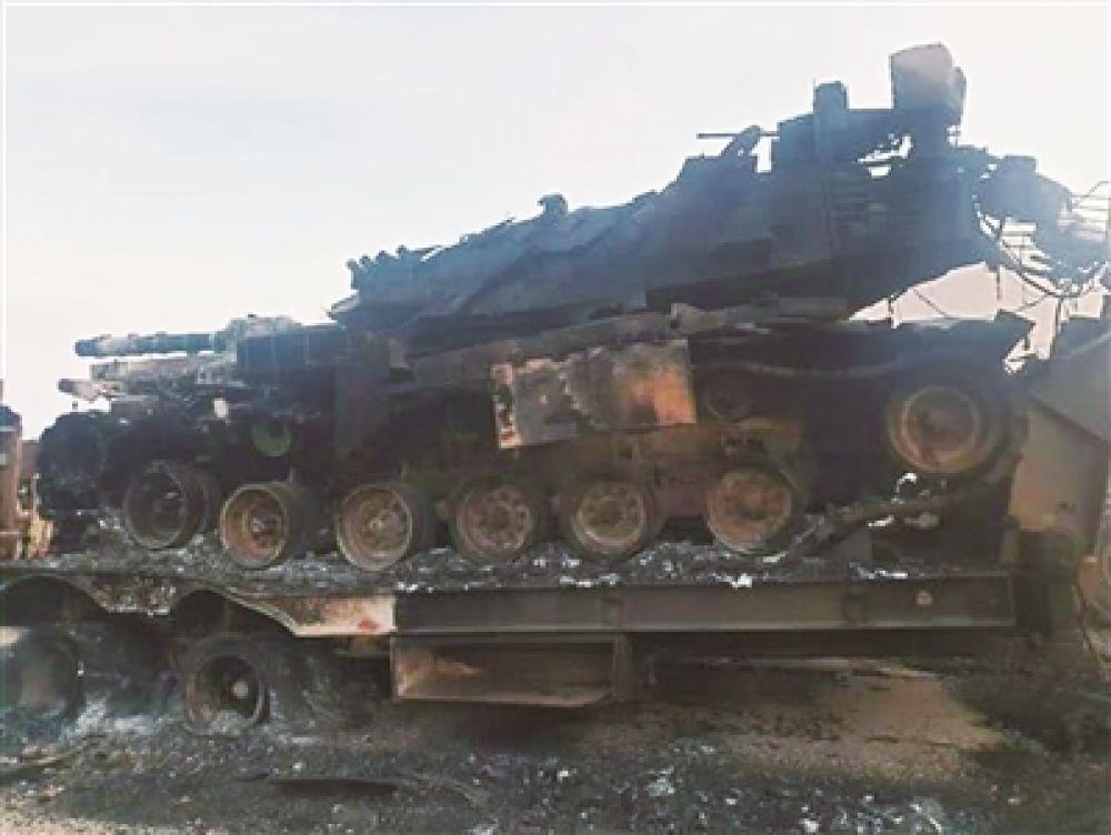 """被擊毀的""""超級巴頓""""——土耳其M60T1主戰坦克分析"""