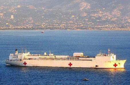 美國海軍醫療船將于28日前往紐約幫助抗擊疫情
