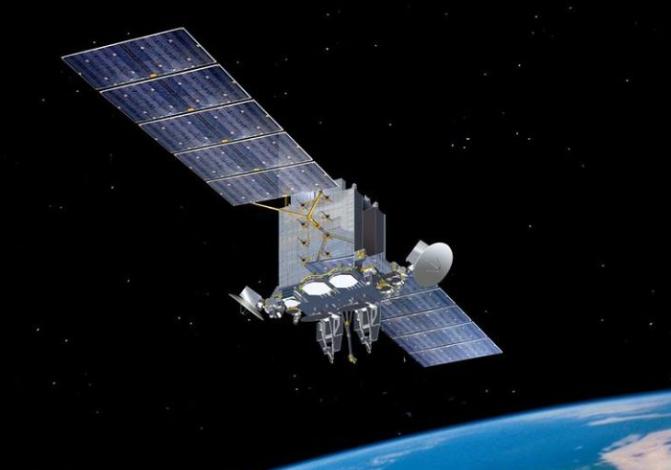 美太空軍首發通信衛星