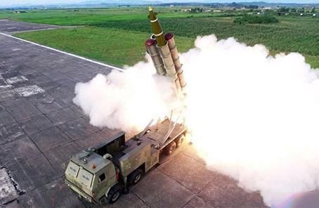 朝鮮宣布成功試射超大型火箭炮