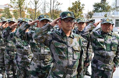 """湖北省赤壁市結合戰""""疫""""提升民兵整組質量"""