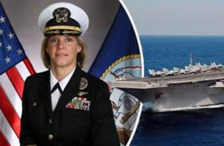 女性首次出任美軍航母艦長