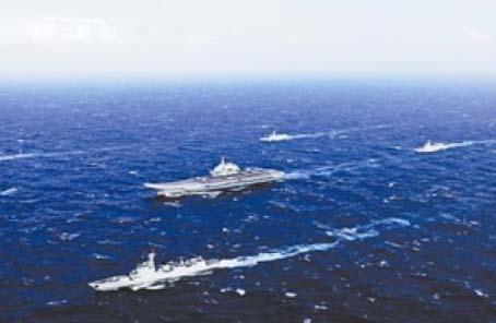 大洋點兵:航母編隊
