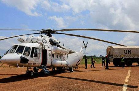 中國首批維和直升機分隊舉行出徵誓師大會