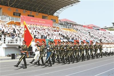 北京市開展國防教育暨徵兵宣傳進校園活動