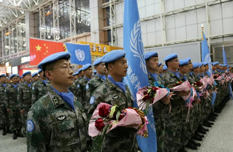 馬裏,372個日夜——記中國第四批赴馬裏維和部隊