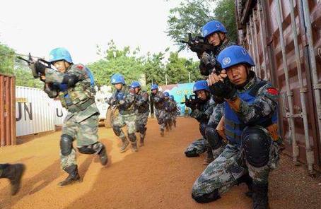 用文藝作品表達對中國維和軍人的崇敬
