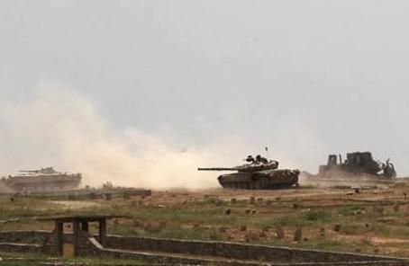 伊拉克什葉派民兵組織收復摩蘇爾西部一重要城鎮