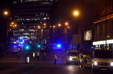 國際社會強烈譴責英國曼徹斯特爆炸襲擊事件