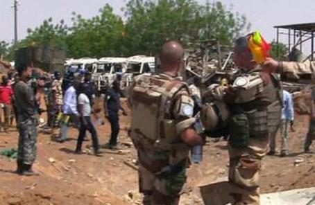 聯合國駐馬裏維和人員遇襲致兩死一傷