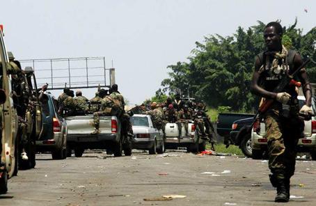 科特迪瓦復員武裝人員遊行引發衝突多人死傷