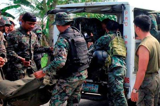 菲南部武裝衝突一個月間致375人喪生