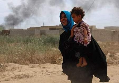 收復摩蘇爾戰事進展順利 近百萬流離失所平民需援助