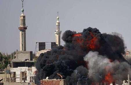 以色列空襲敘利亞政府軍目標