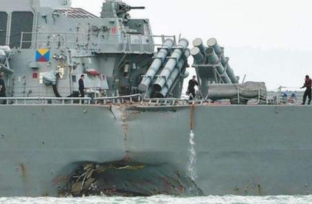 新聞分析:美軍艦撞船事故為何頻發