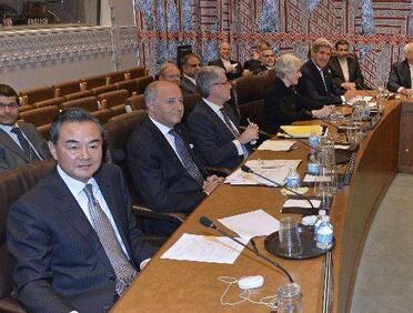 王毅出席伊朗核問題六國與伊朗外長會議