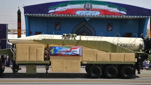 伊朗展示新型彈道導彈 射程2000公裏