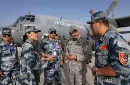 從6次中巴空軍聯合訓練看改革強軍新變化