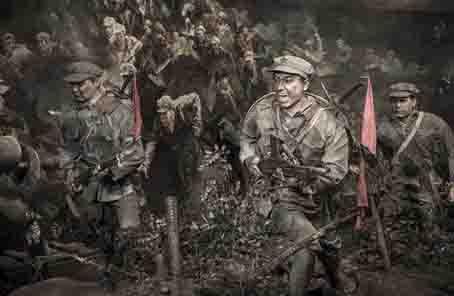 廣西灌陽:井下紅軍遺骸83年後得到隆重安葬