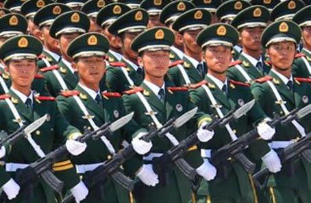 努力建設一支強大的現代化武裝警察部隊