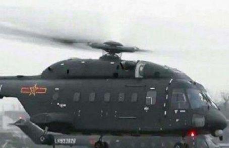 美媒稱解放軍引入新型運輸直升機 或將用于空中突擊作戰